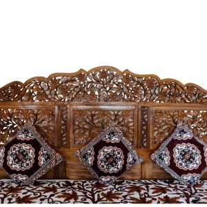 Hand Carved Bed